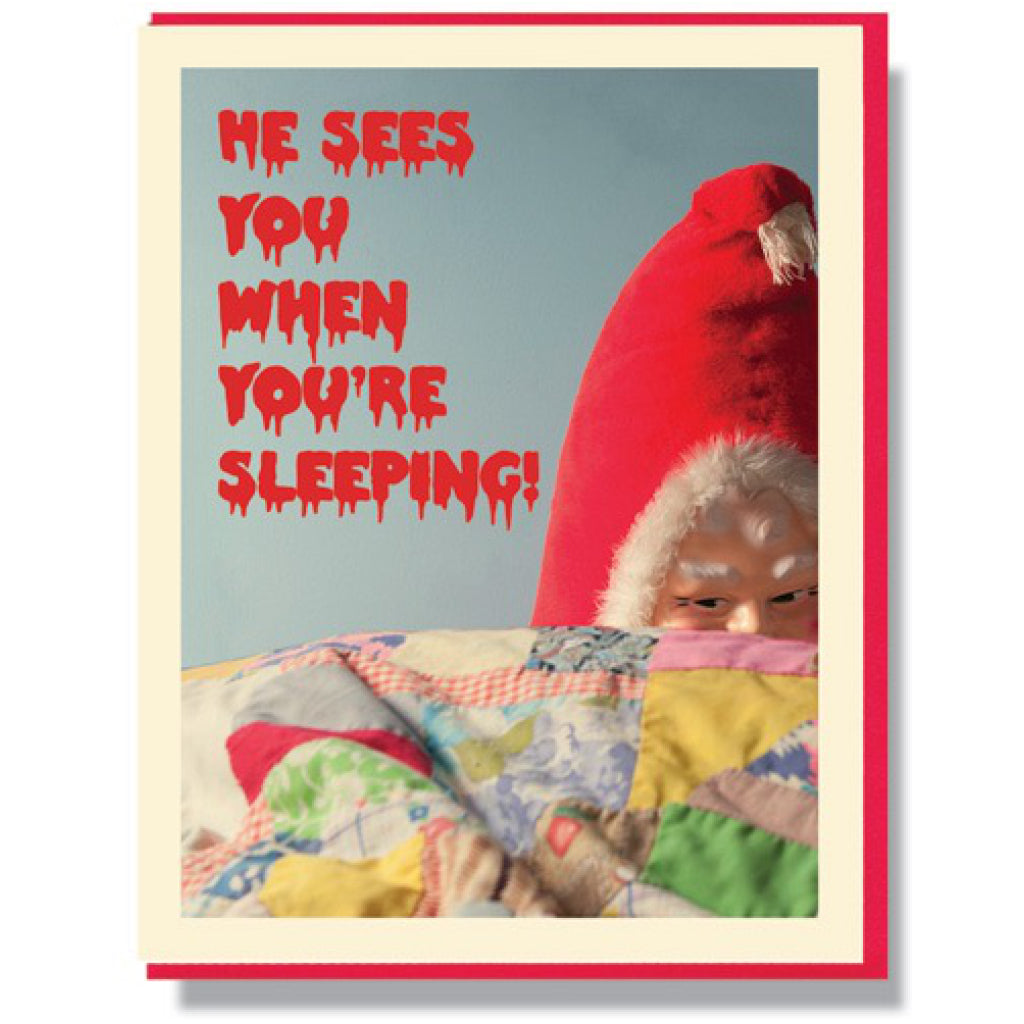When You're Sleeping Card