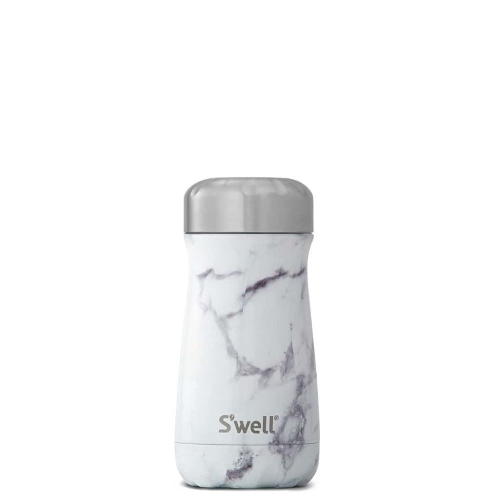 White Marble Traveler 12oz 355ml
