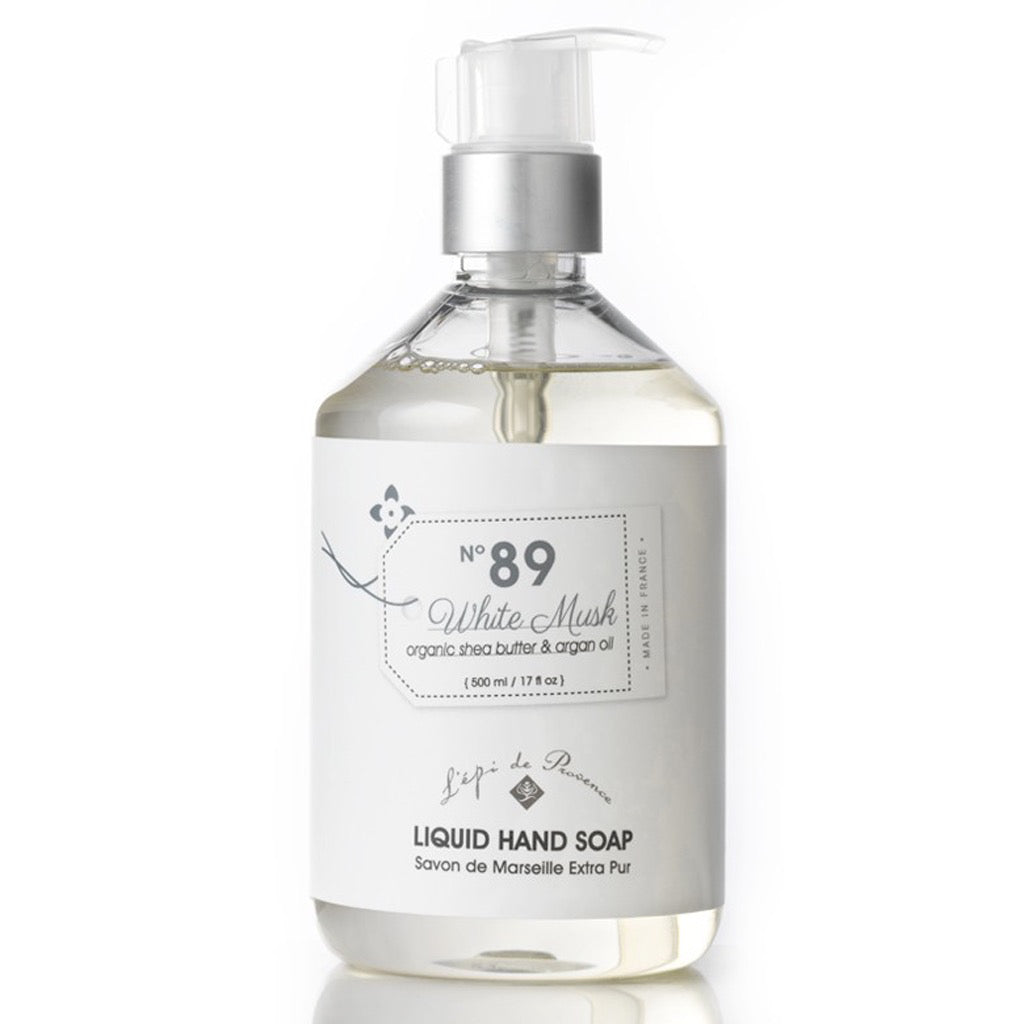 White Musk No.89 Liquid Soap 500ml