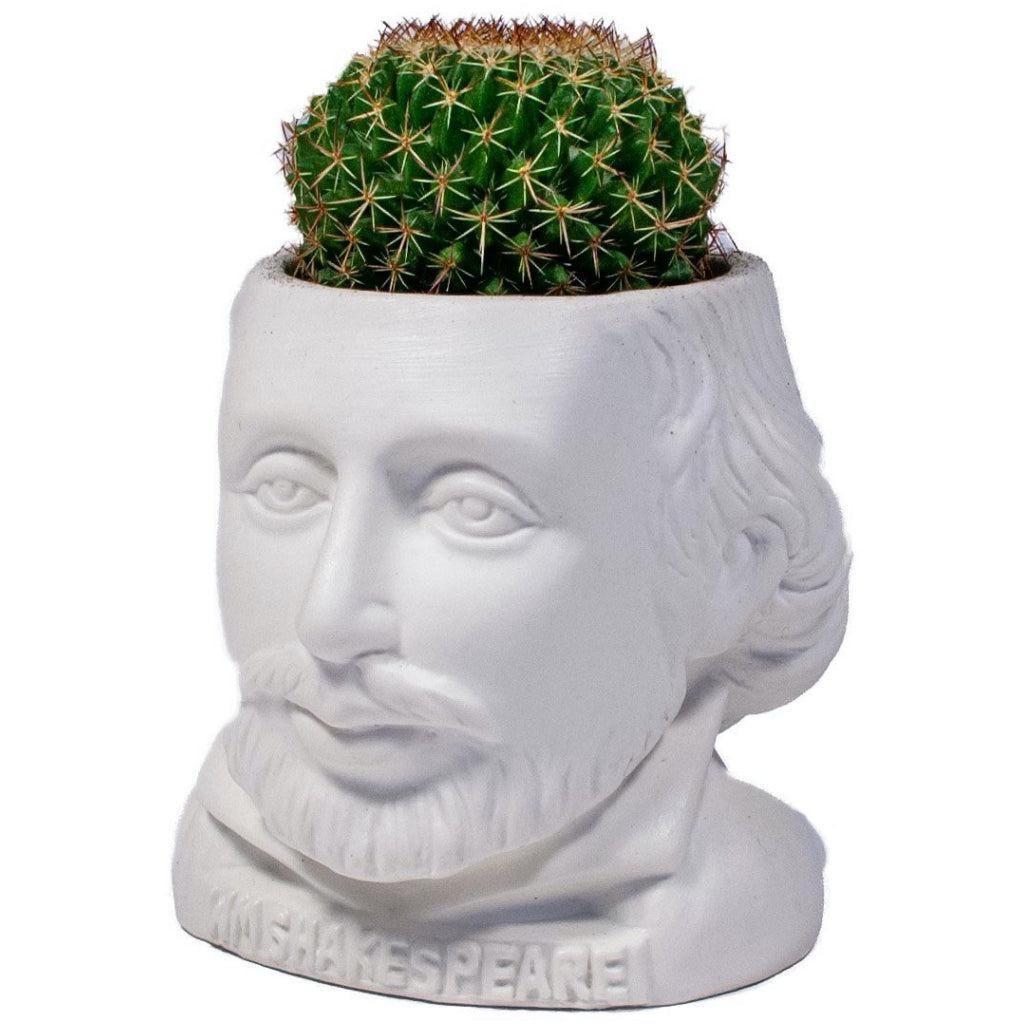 William Shakespeare Planter Pot