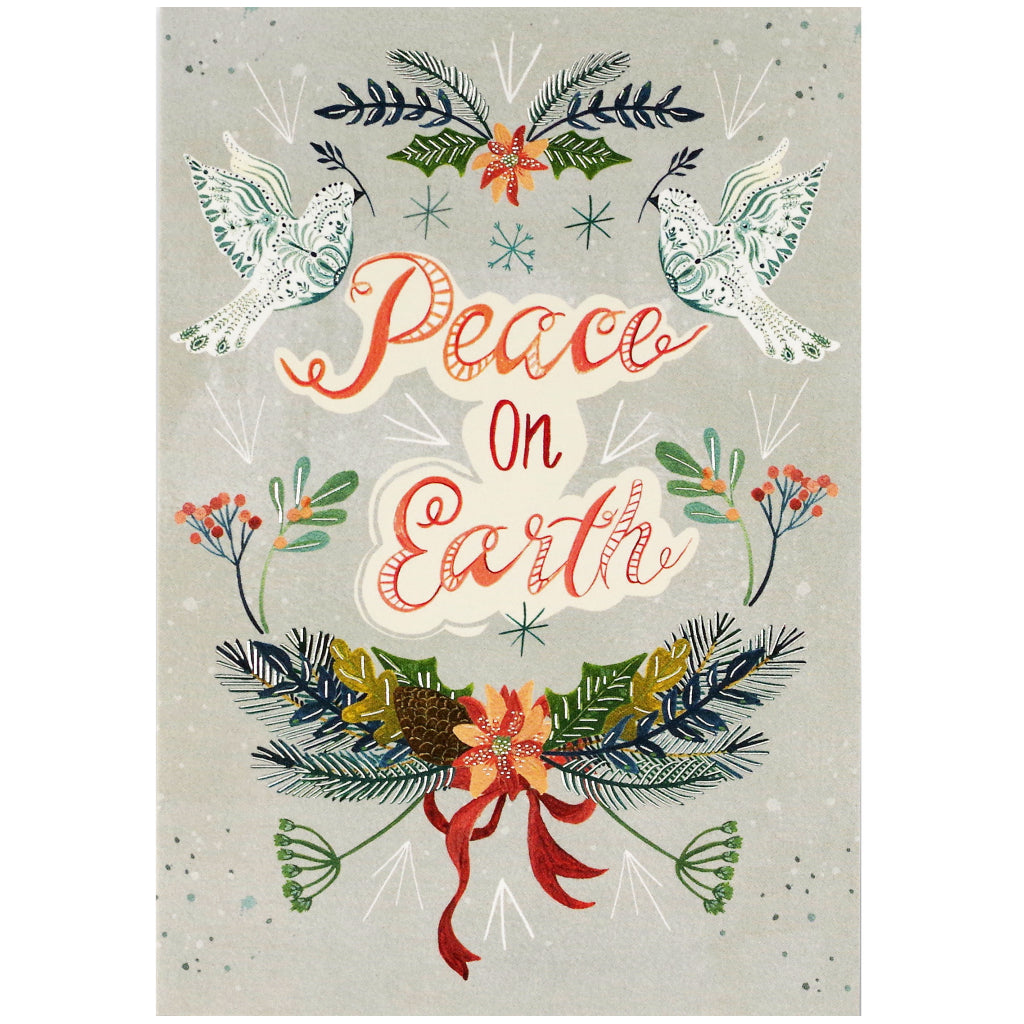 Boxed Christmas Cards.Wings Of Peace Boxed Holiday Cards