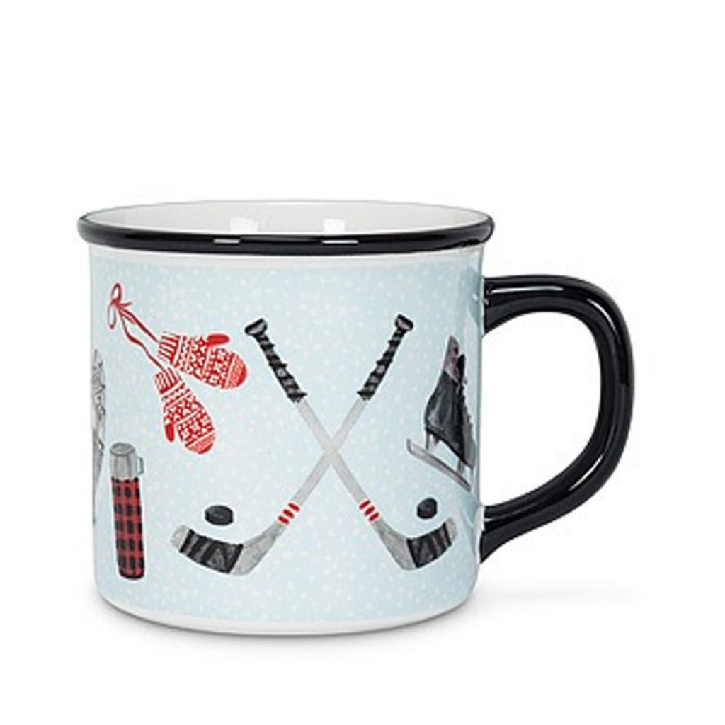 Winter Icons Mug Blue