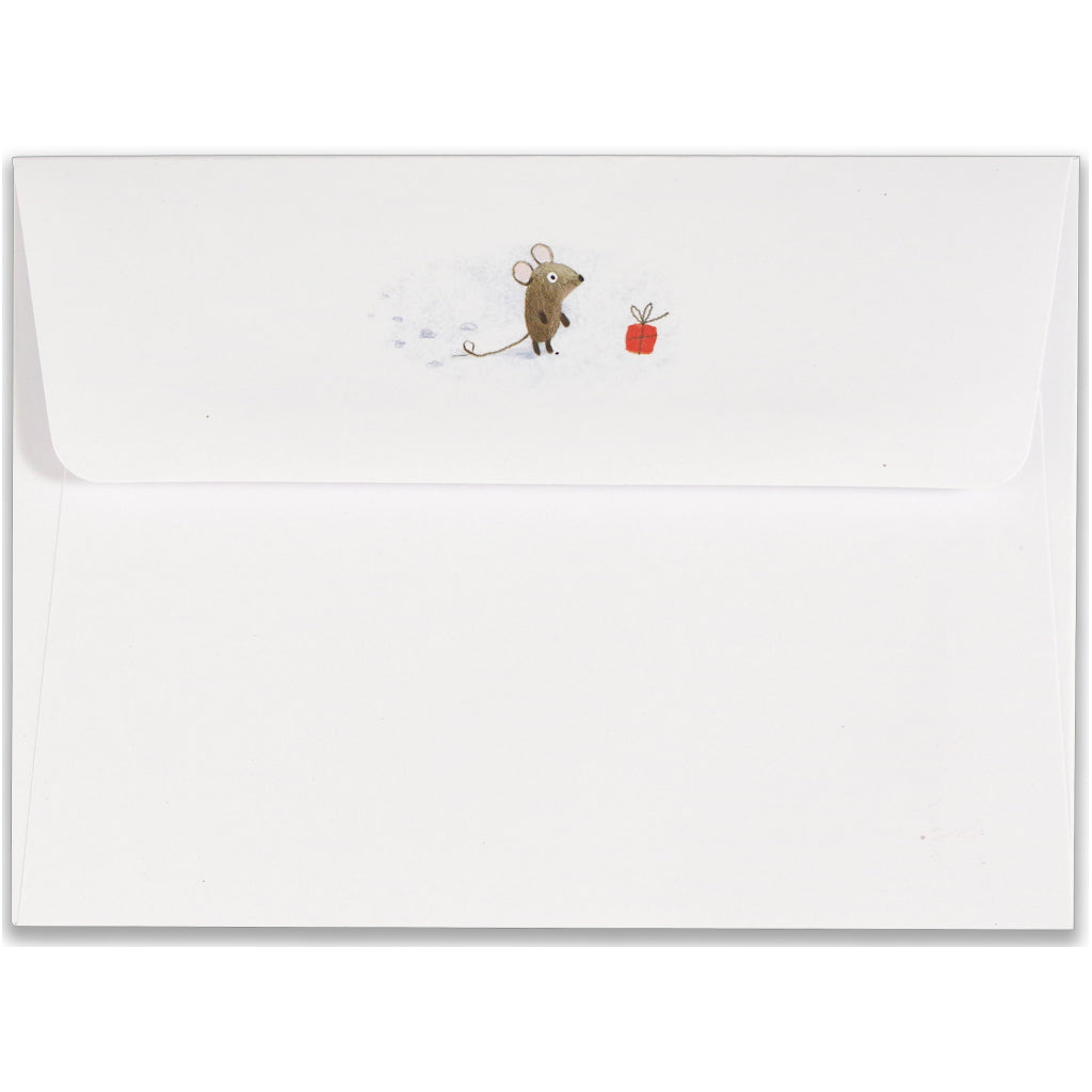 Envelope of Winter Tails Boxed Holiday Cards.