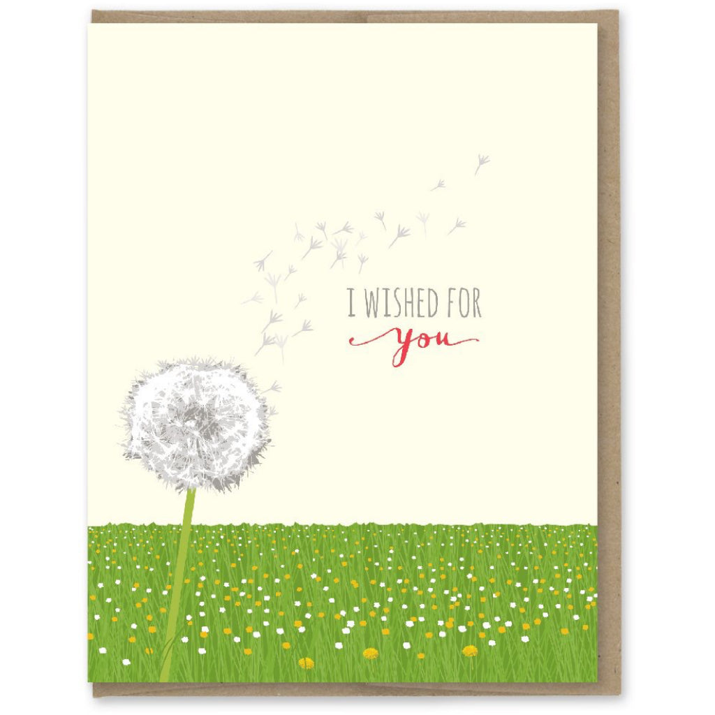 Wished For You Dandelion Card