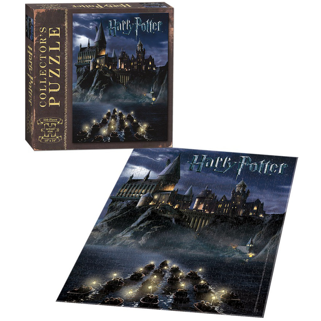 World of Harry Potter 550 Piece Jigsaw Puzzle Completed