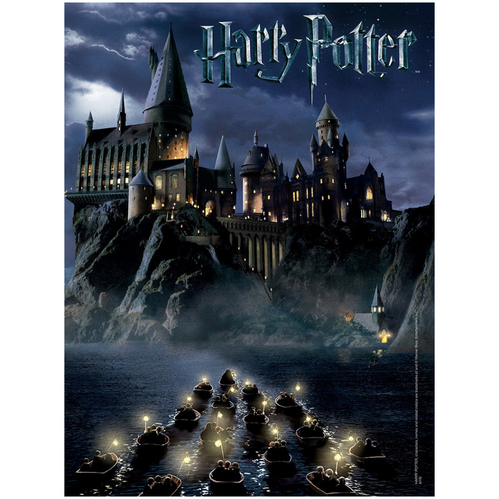 World of Harry Potter 550 Piece Jigsaw Puzzle Poster