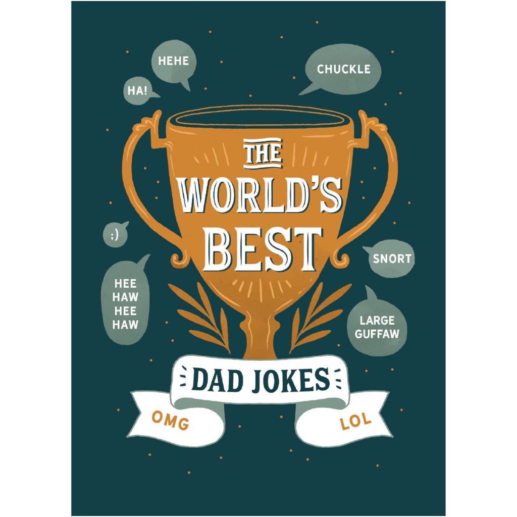 World's Best Dad Jokes Card