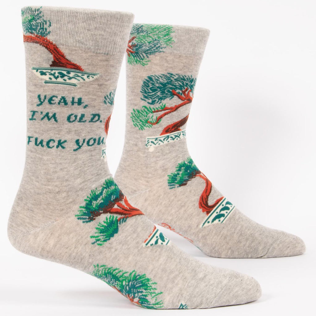 Yeah, I'm Old Men's Socks
