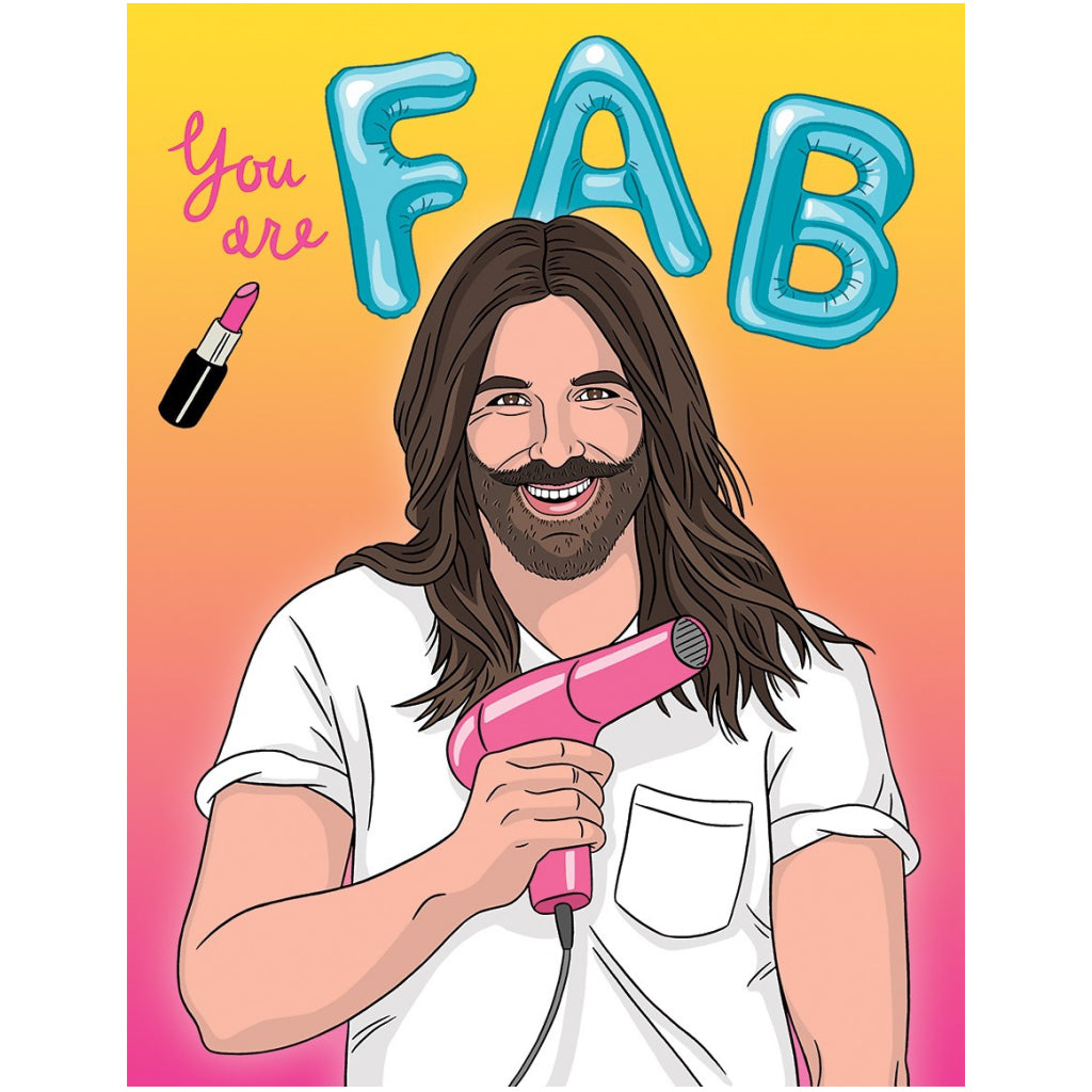 You Are FAB Birthday Card