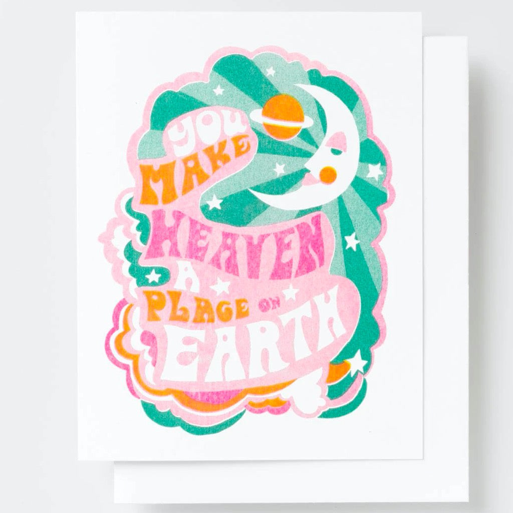 You Make Heaven a Place on Earth Card