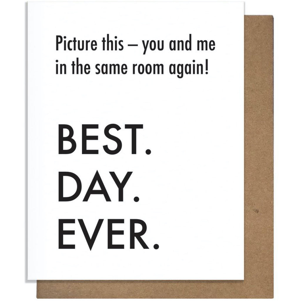 You & Me In Same Room Card