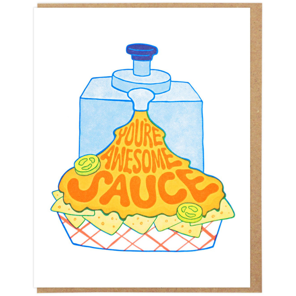 You're Awesome Sauce Card