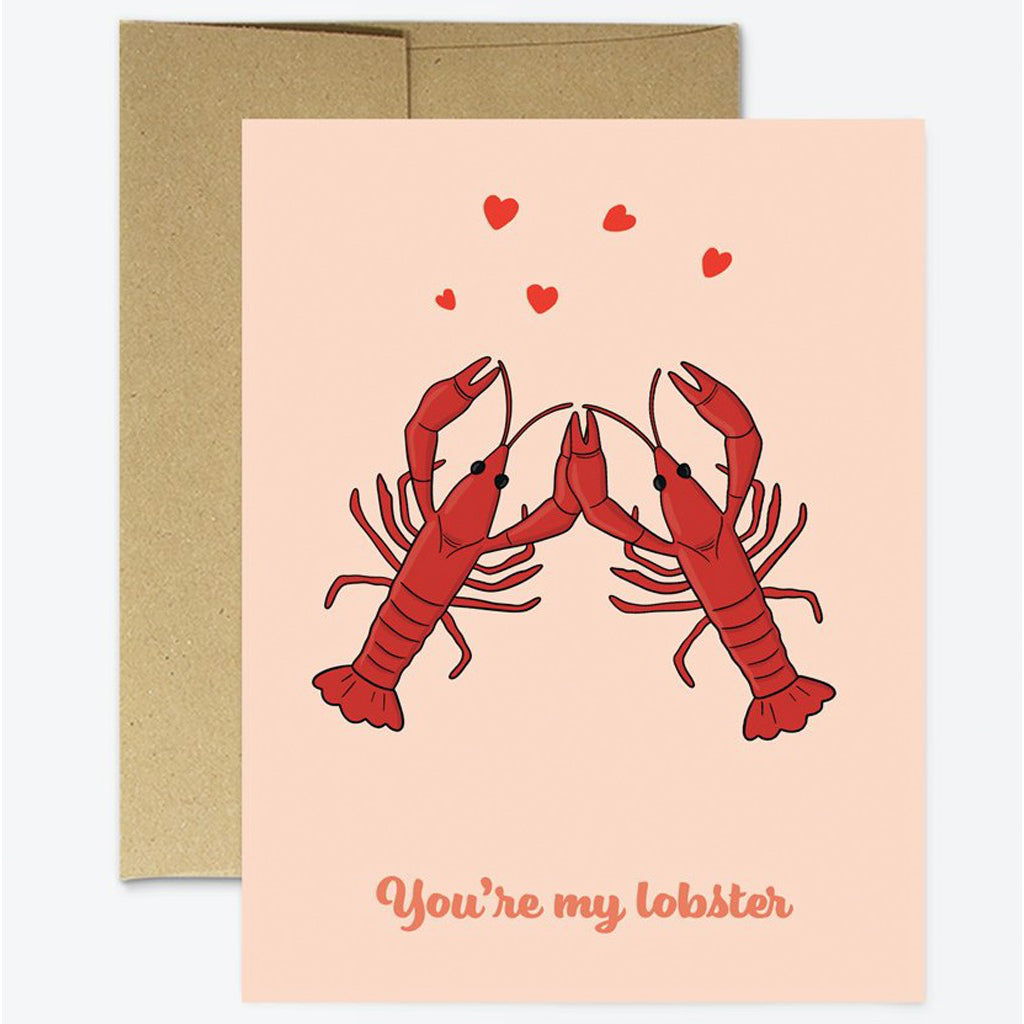 You're My Lobster Card