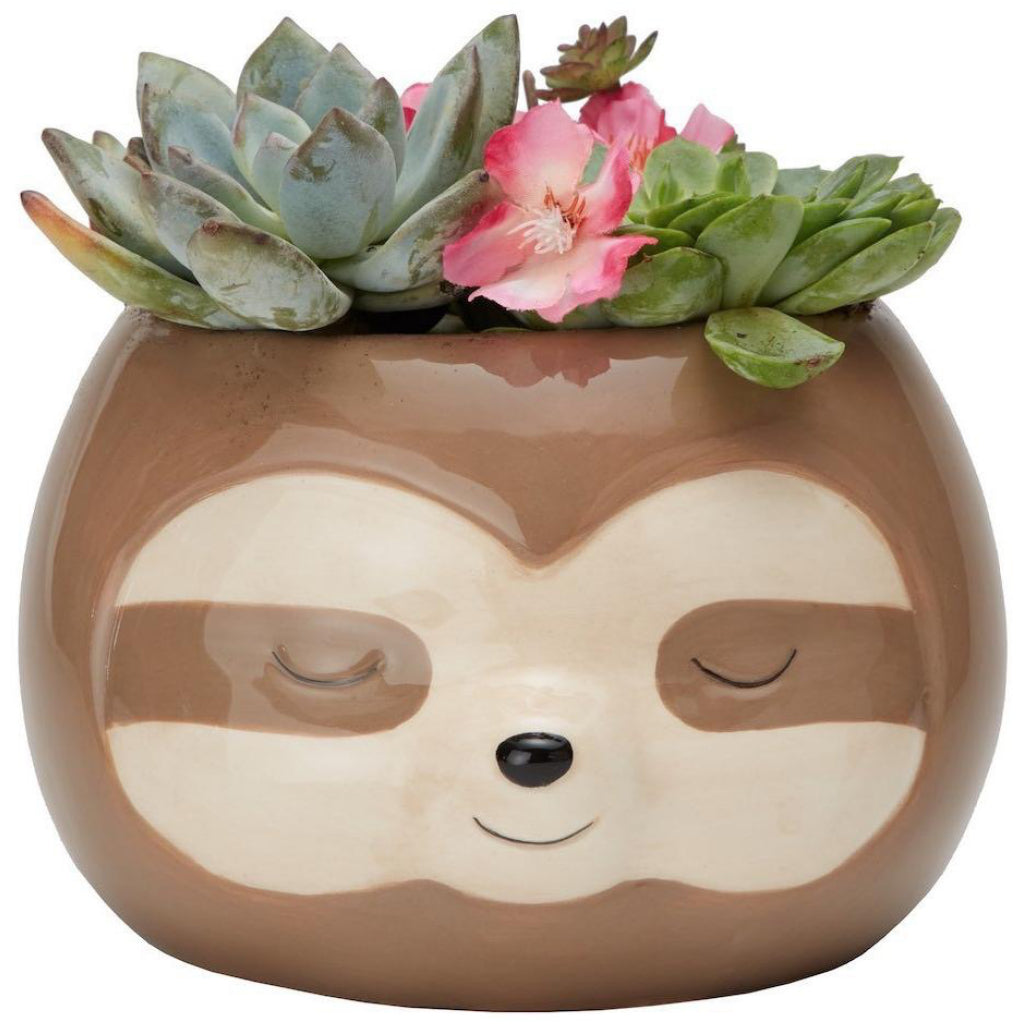 Sloth Planter Pot