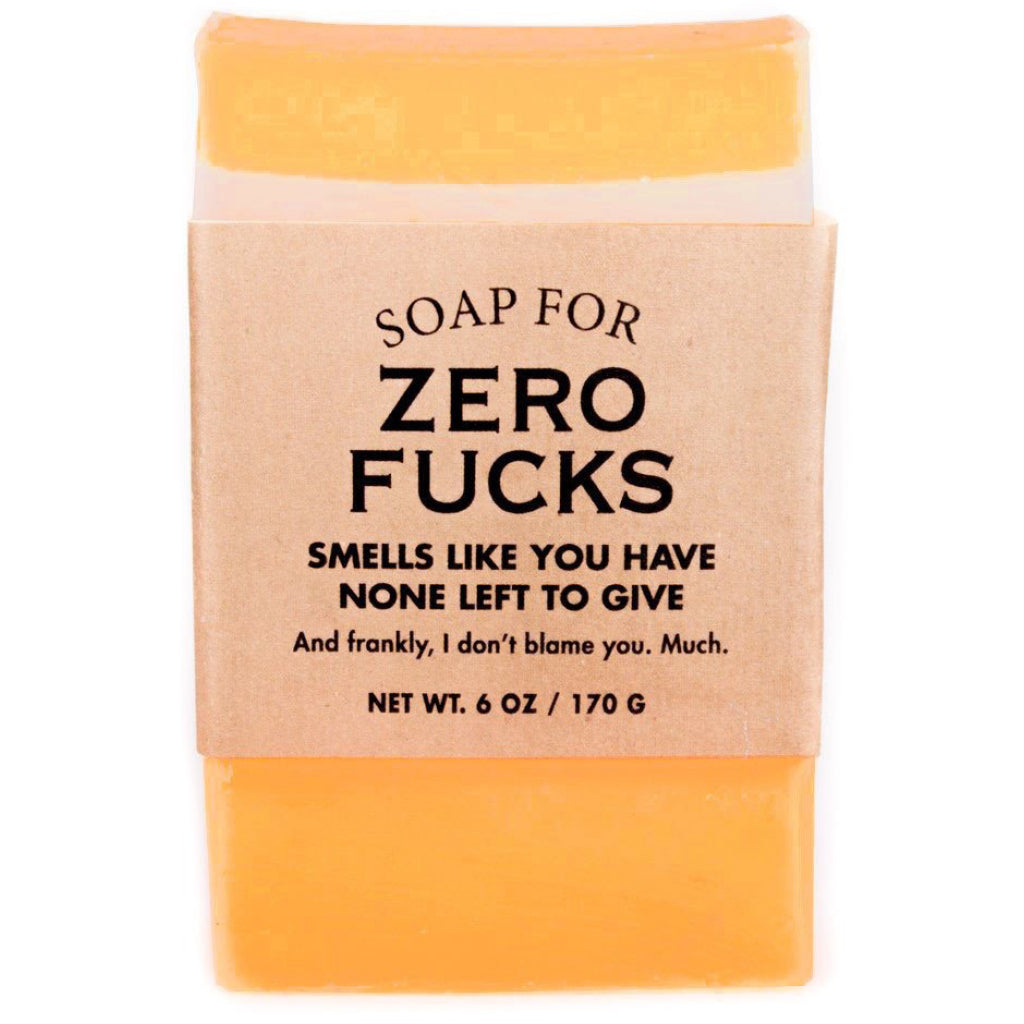Zero Fucks Bar Soap