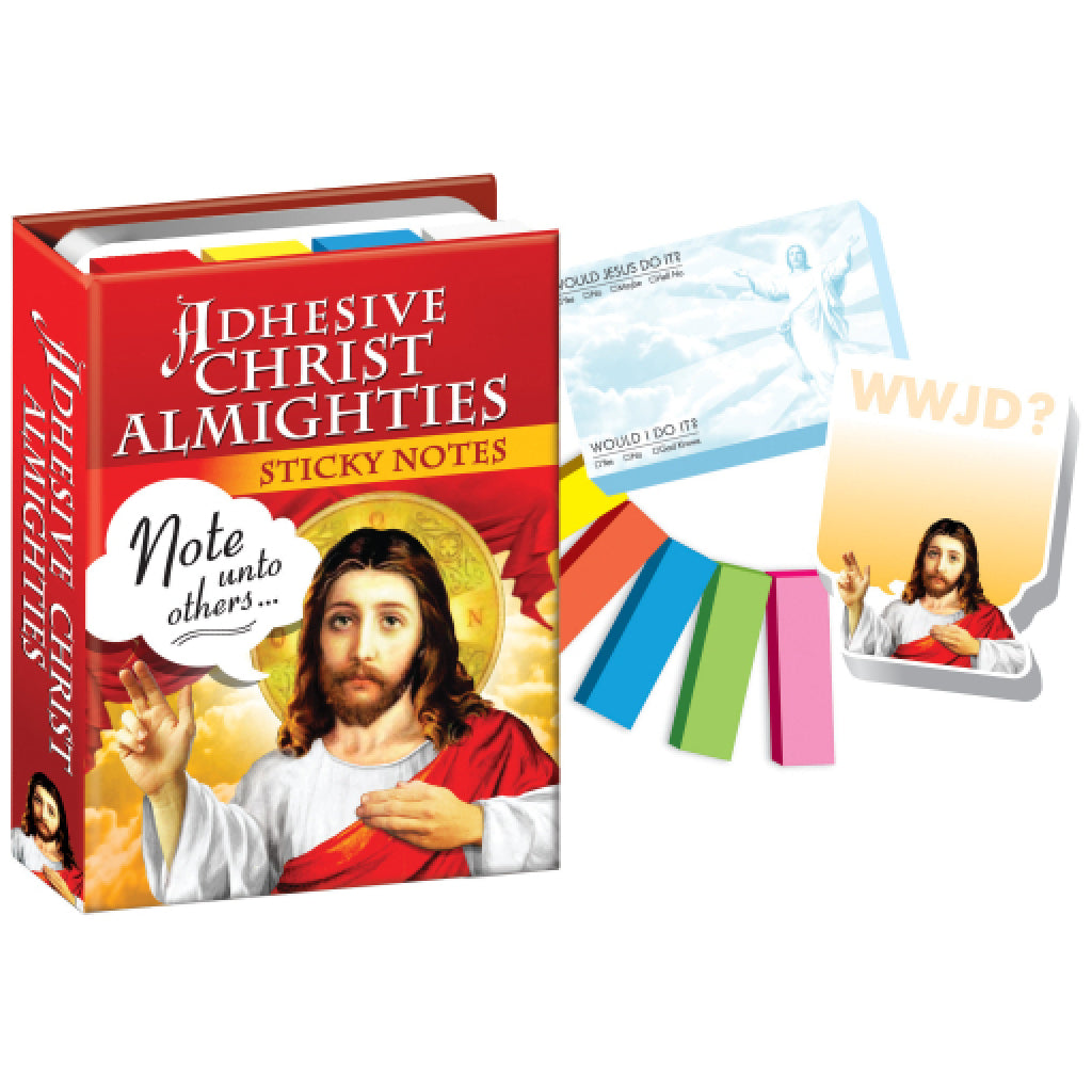 Adhesive Christ Almighties Sticky Notes