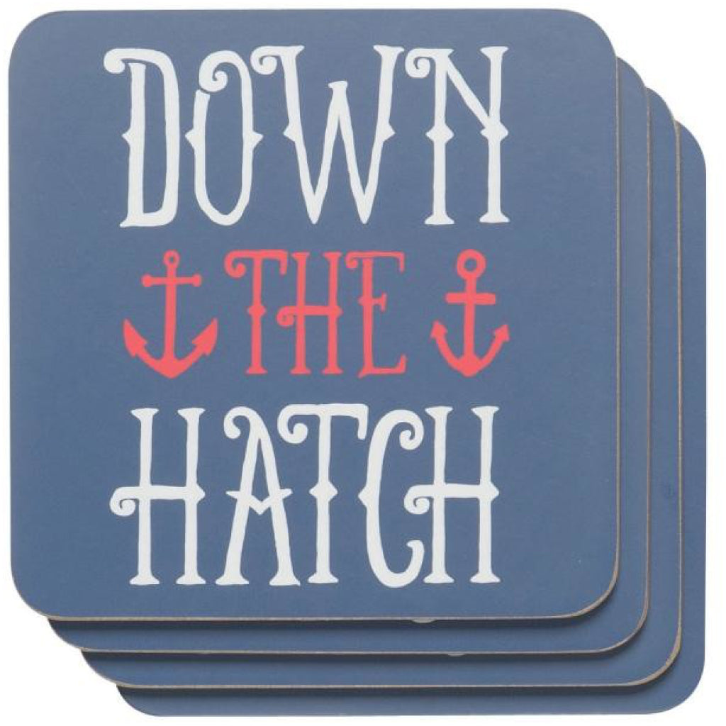 Anchors Away Coaster Set