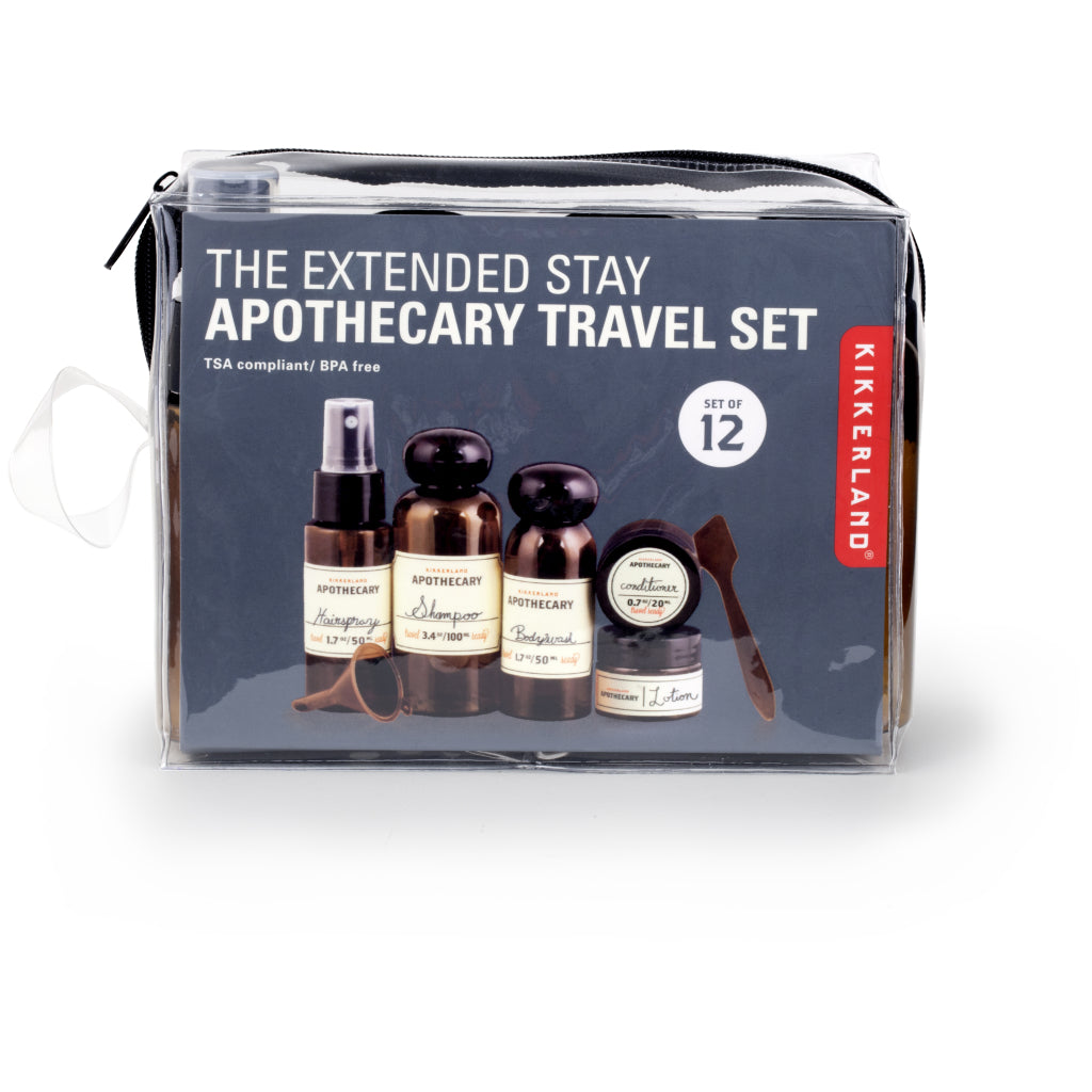 Apothecary Travel Set Extended Stay