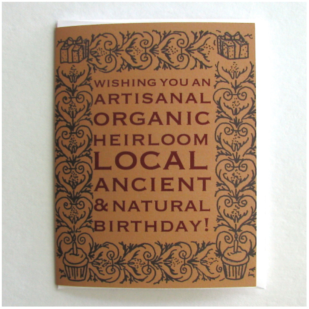 Artisanal Birthday Card