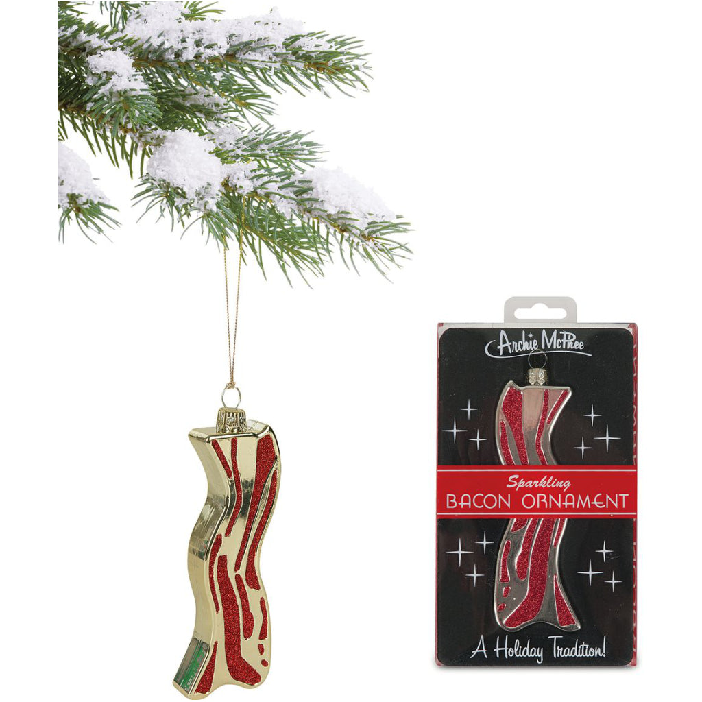 Bacon Ornament by Archie McPhee | Christmas Decorations at Outer Layer
