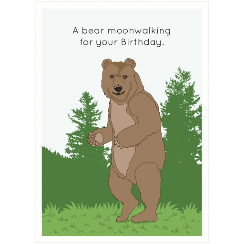 Bear Birthday Card By Seltzer Goods Outer Layer