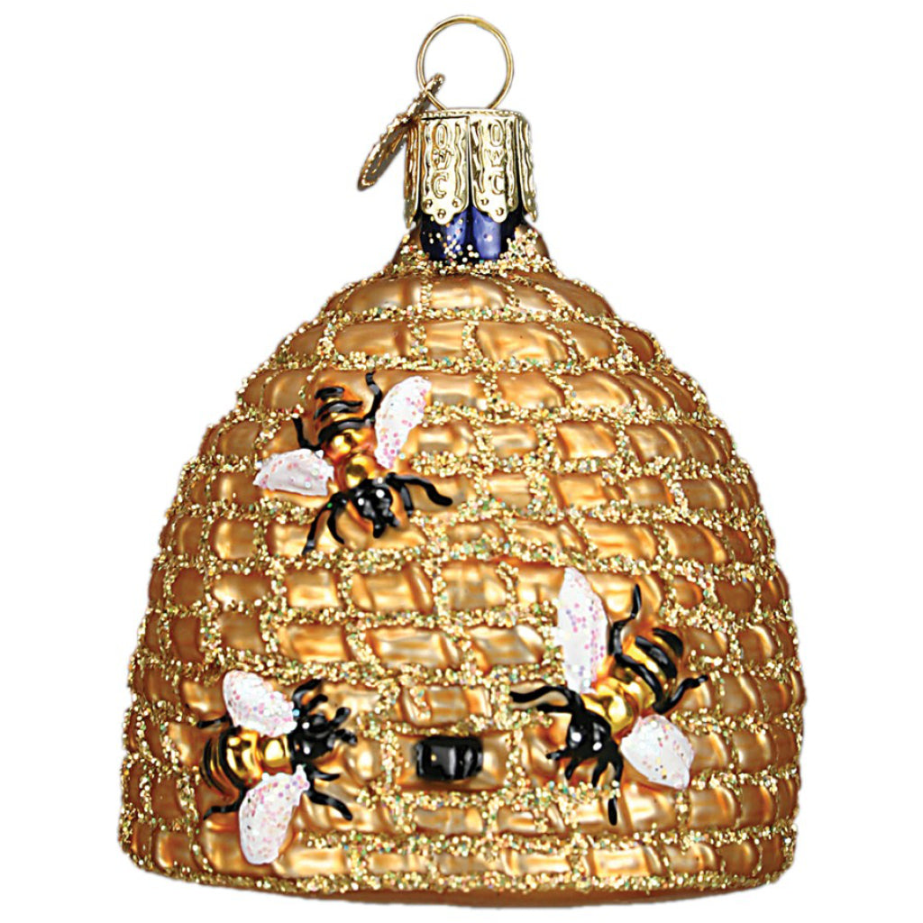 Bee Hive Ornament by Old World Christmas