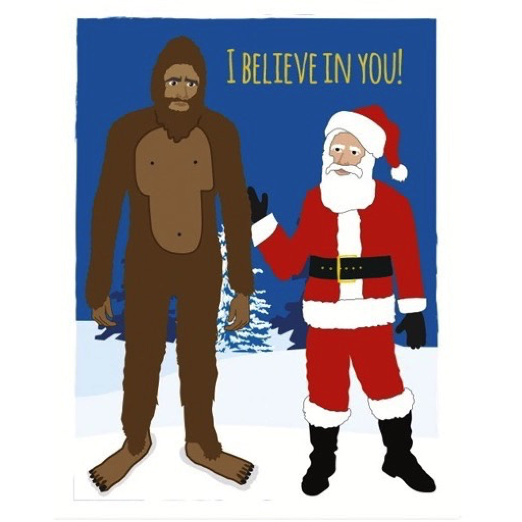 Believe Christmas Card by Seltzer Goods - Outer Layer