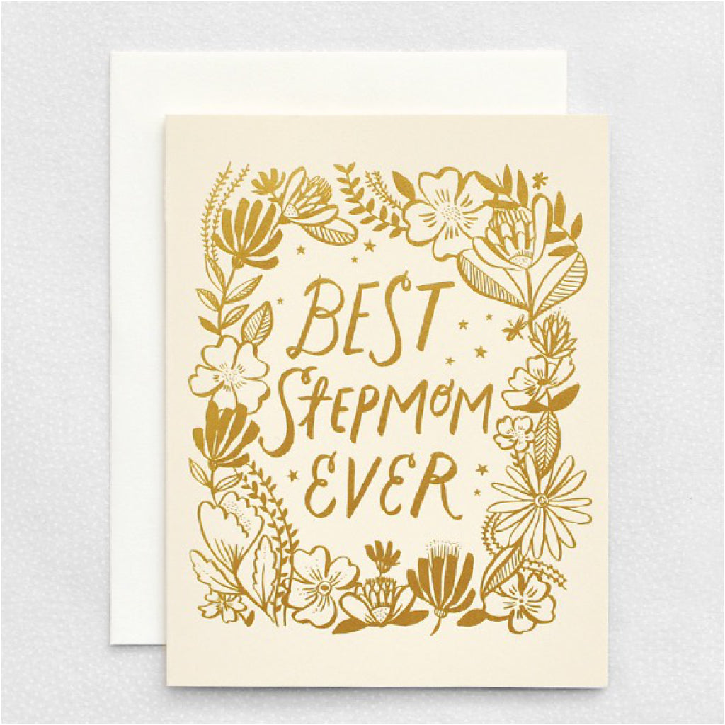 Best Step-Mom Ever Card