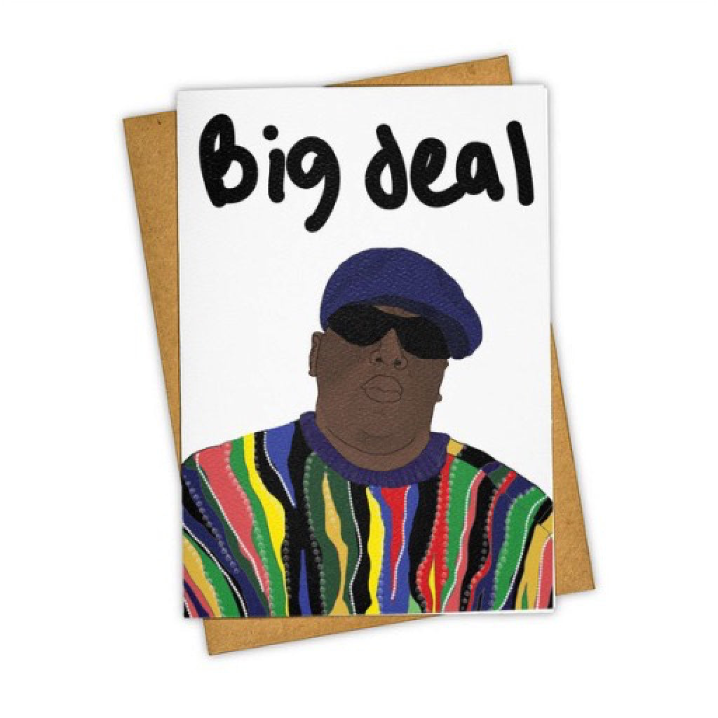 Big Deal B.I.G. Card