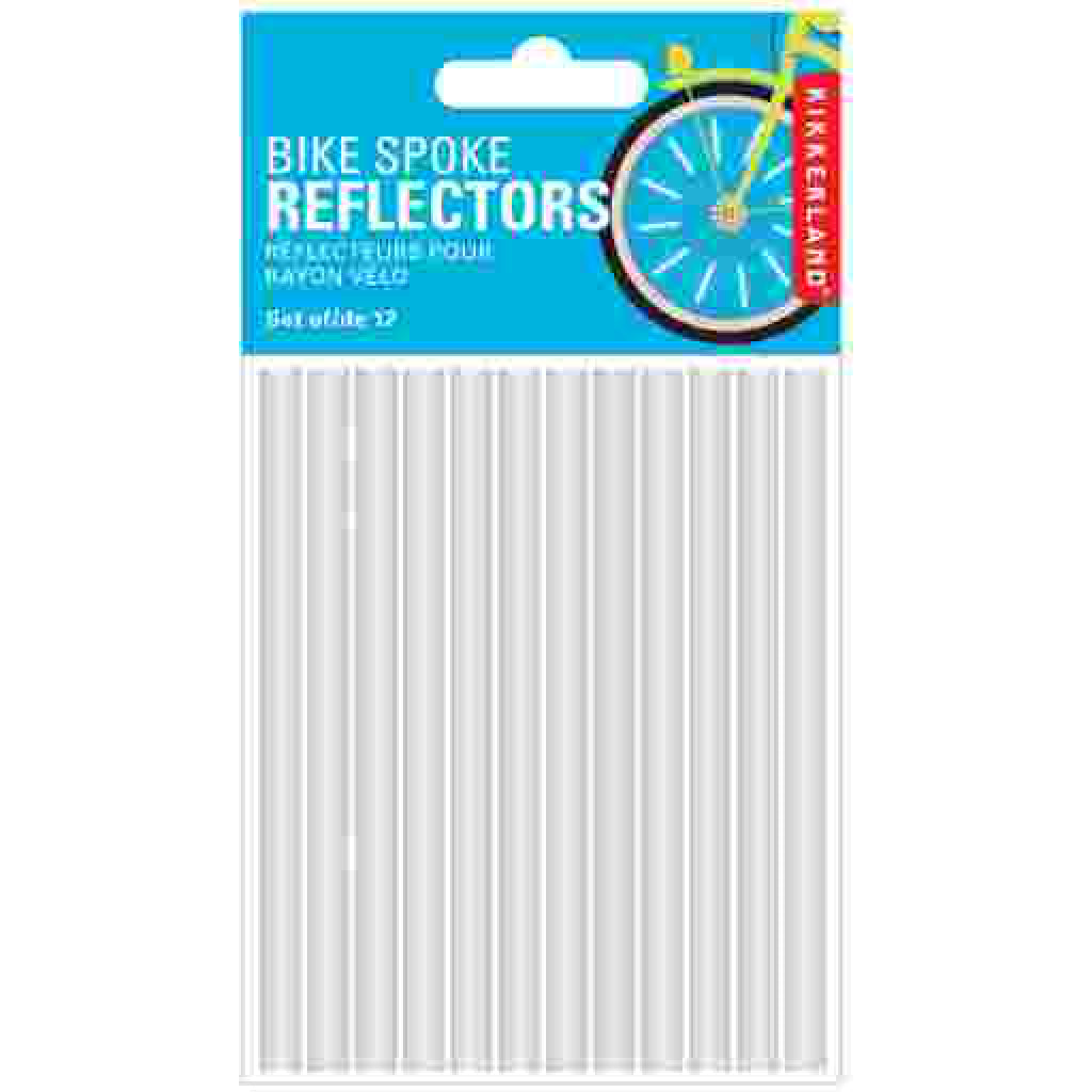 Bike Spoke Reflectors packaging