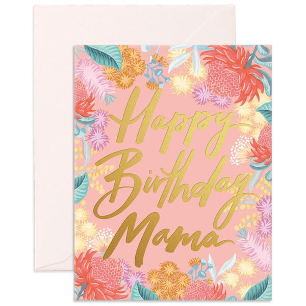 Birthday Mama Card