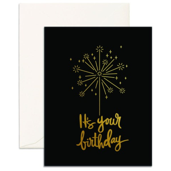 Birthday Sparkler Card