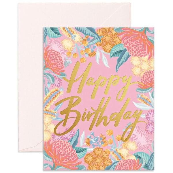 Birthday Wildflower Card