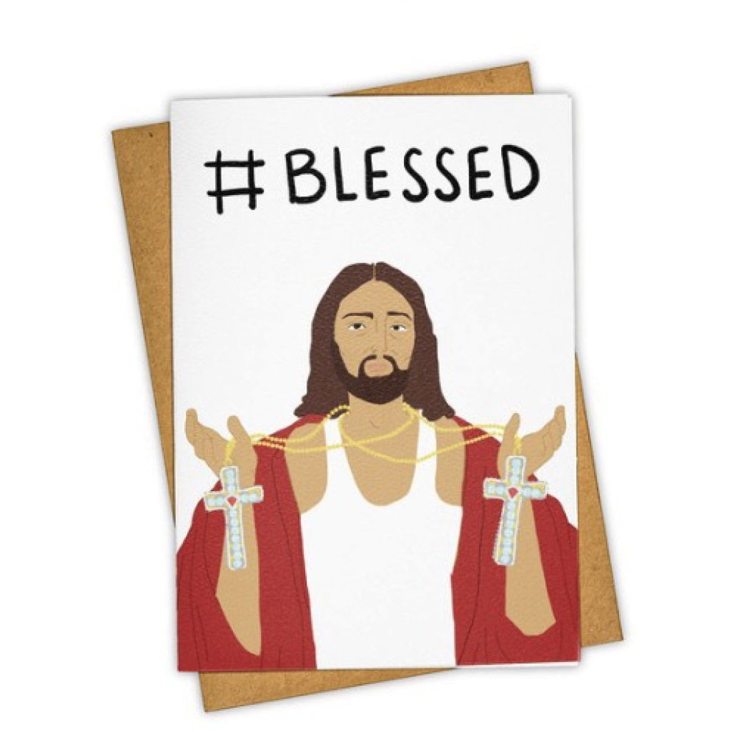 #blessed Jesus Card