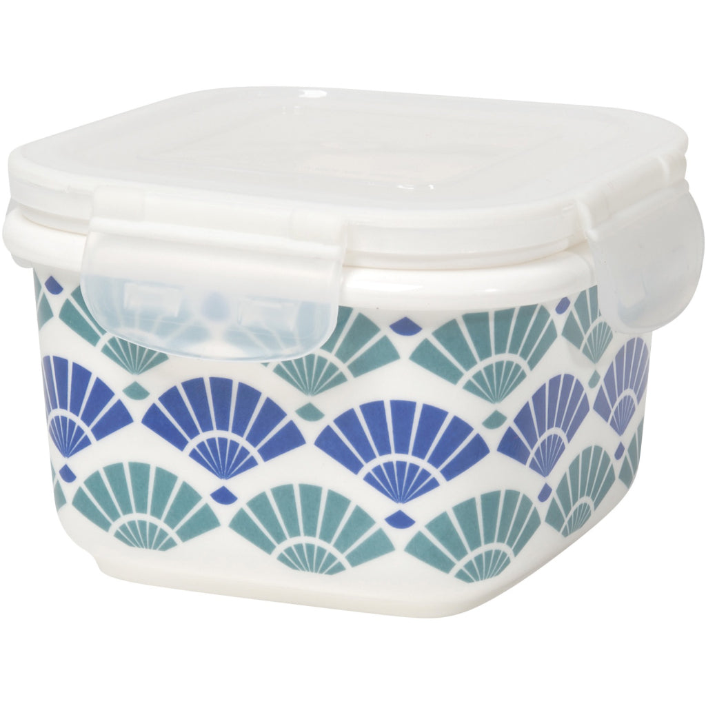 Blue Fans Snack n Serve Container 4 Inch