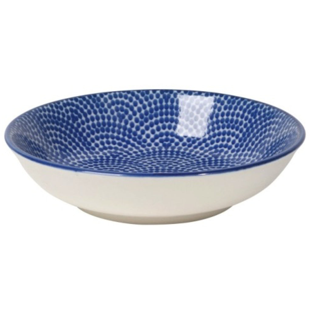 Blue Waves Dip Bowl