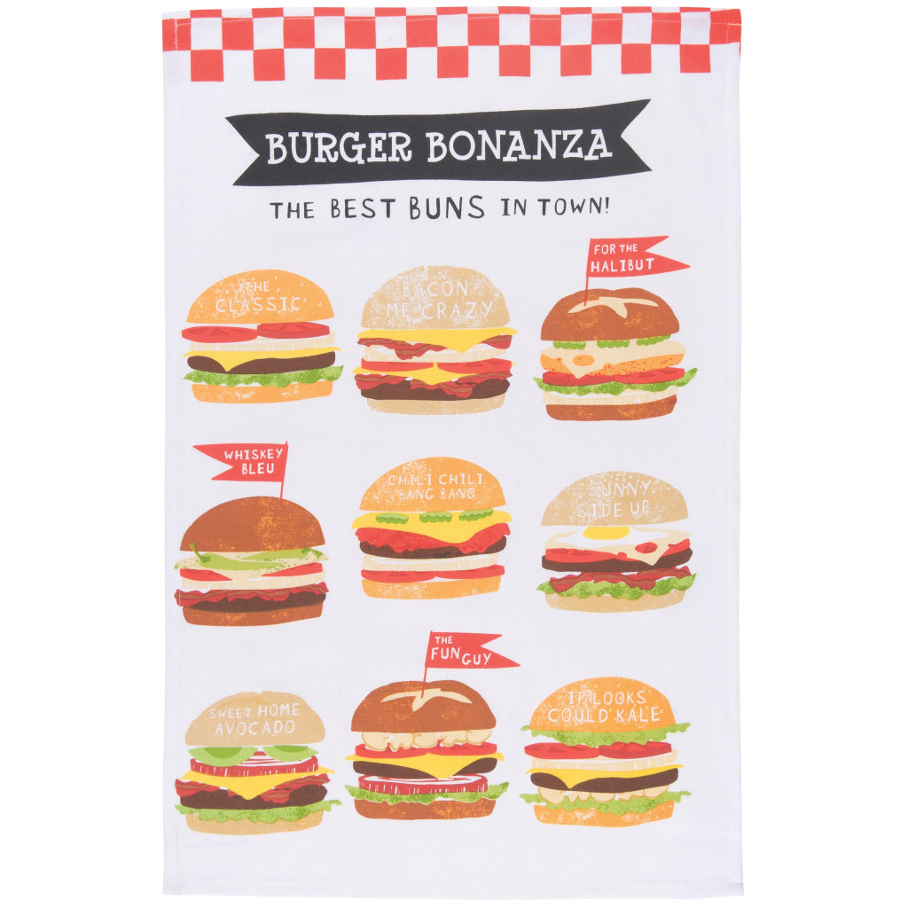 Burger Bonanza Tea Towels Set of 2 product 1