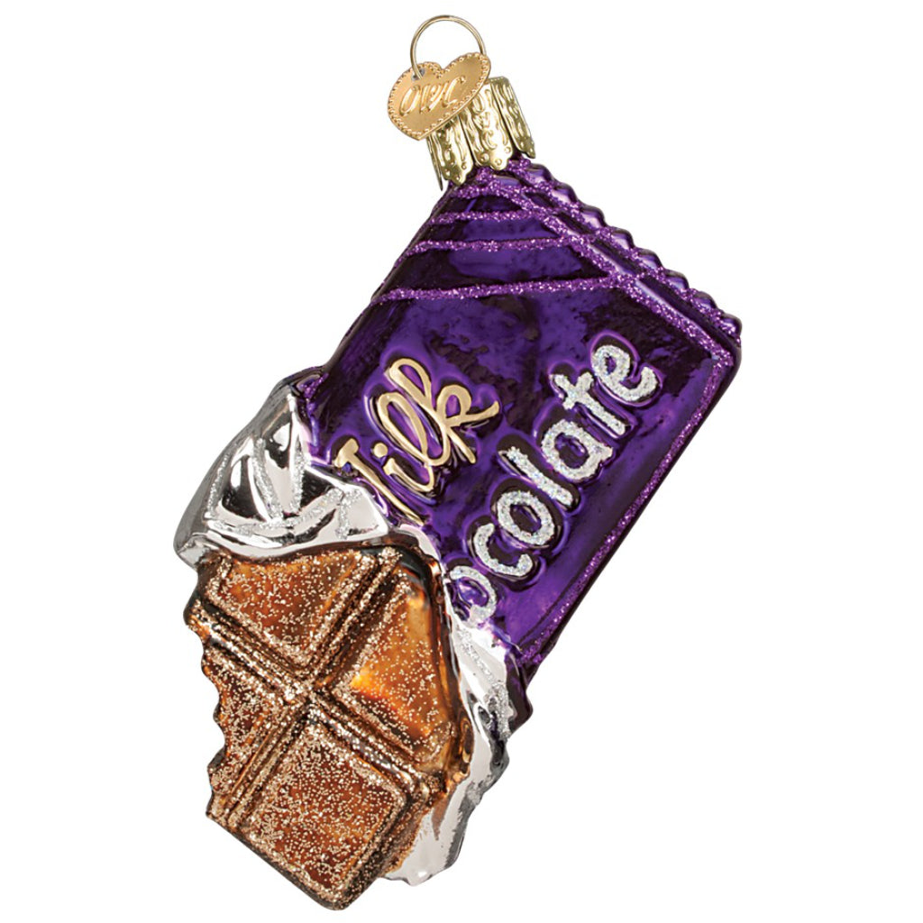 Candy Bar Ornament Purple