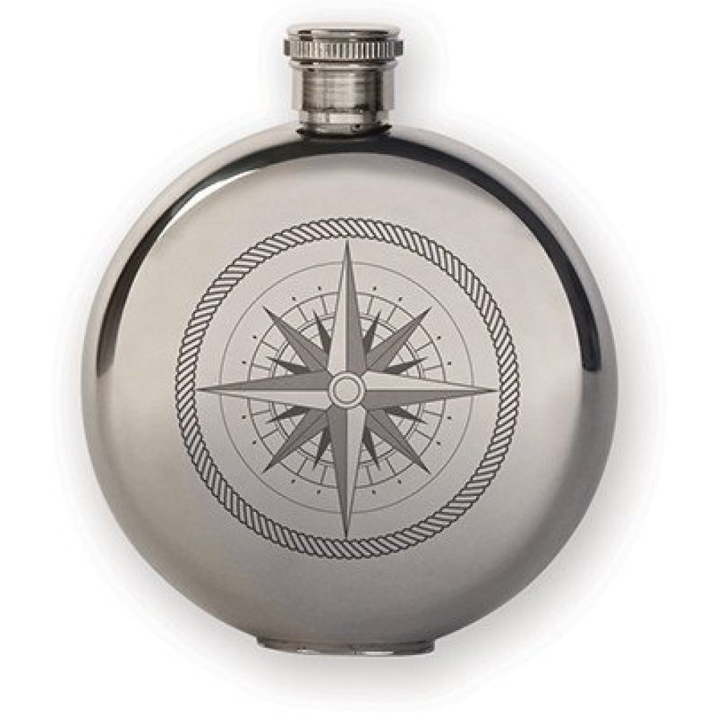 Canteen Flask Compass 3oz.