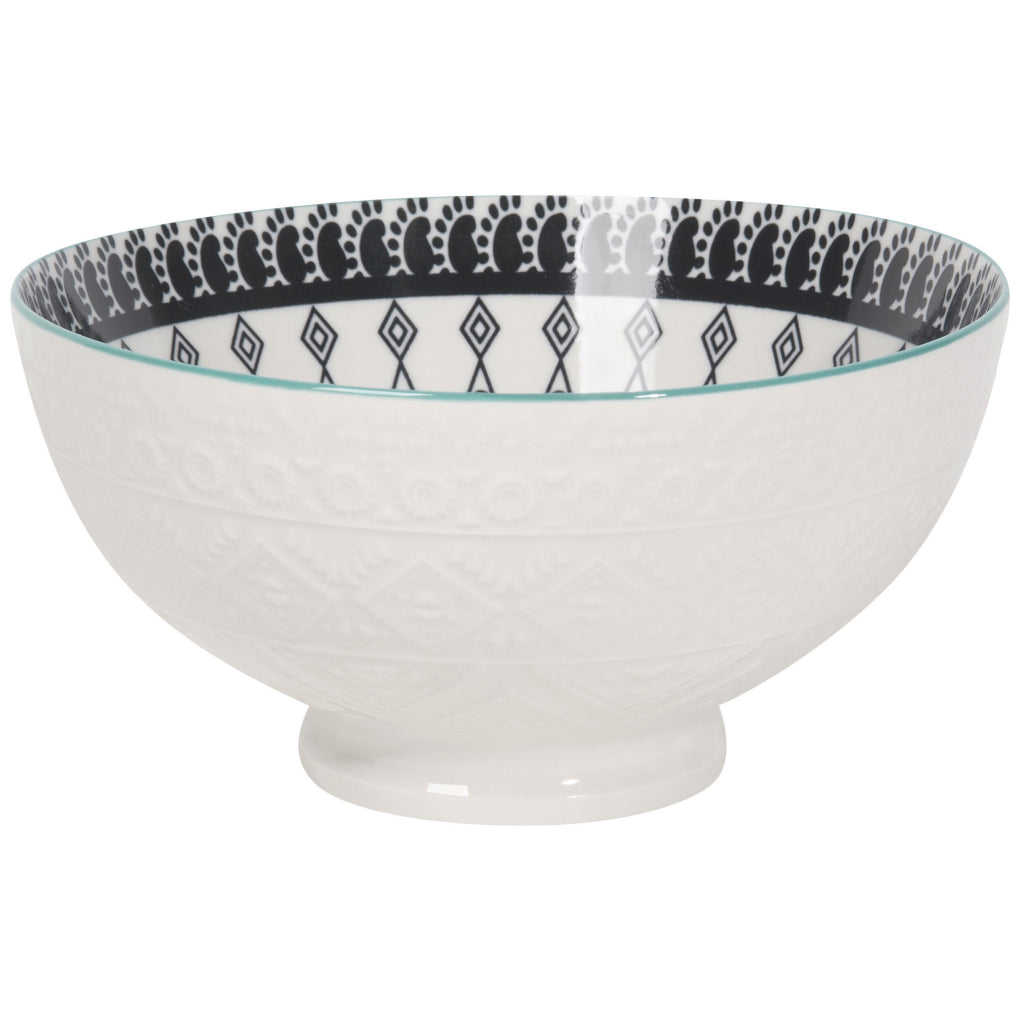 Casablanca Embossed Cereal Bowl 6 Inch