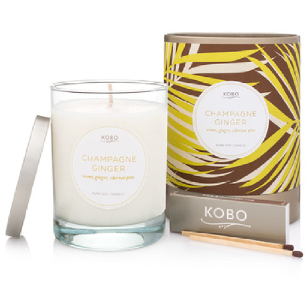 Champagne Ginger Travel Candle