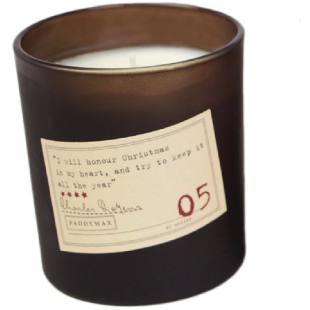 Charles Dickens Library Candle