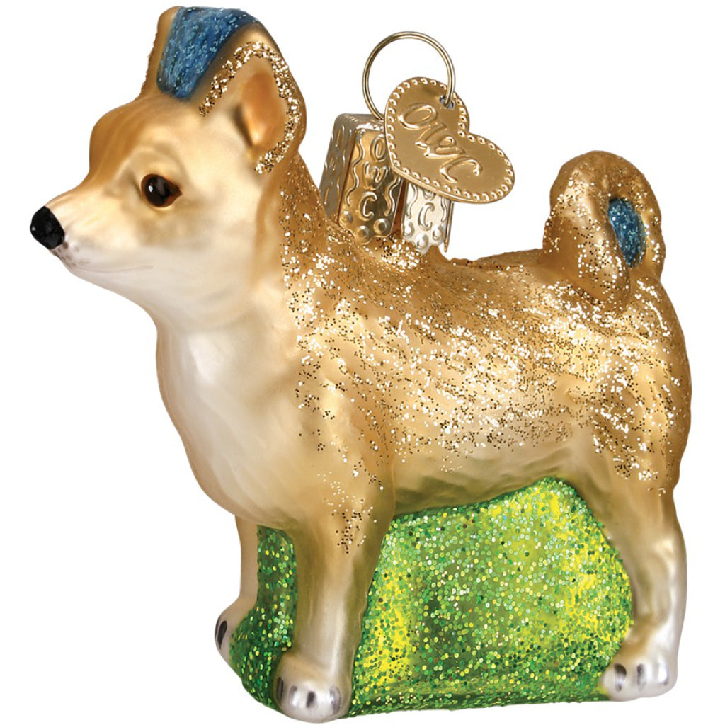 Chihuahua Ornament side