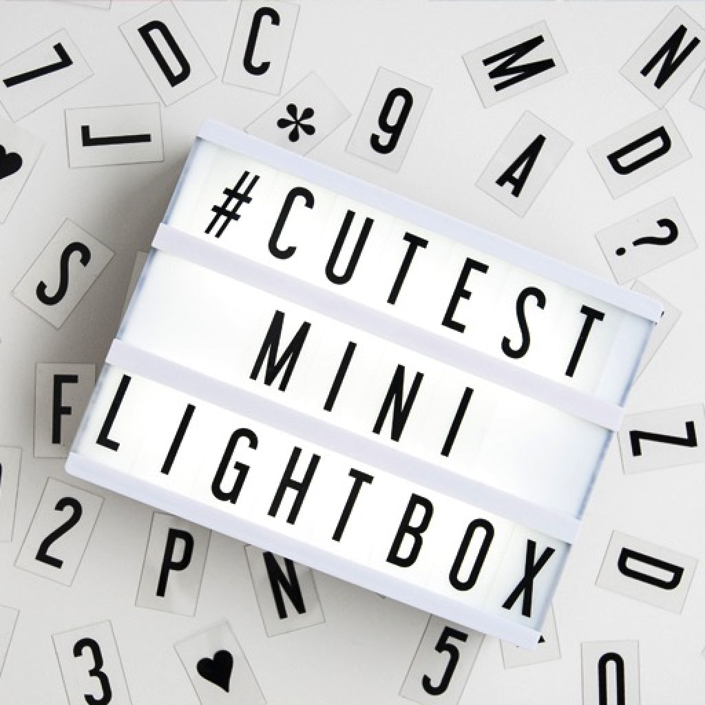 Cinema Lightbox Mini