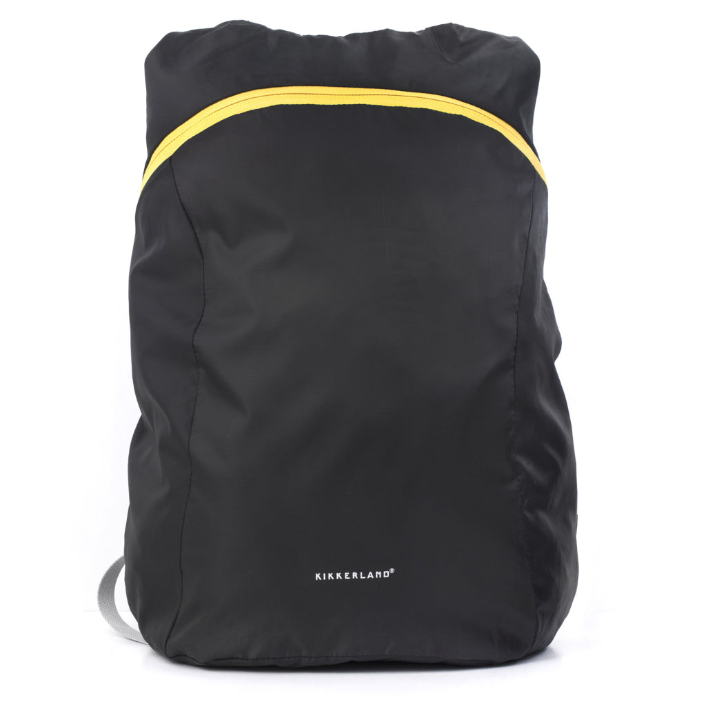 Compact Backpack Black closed