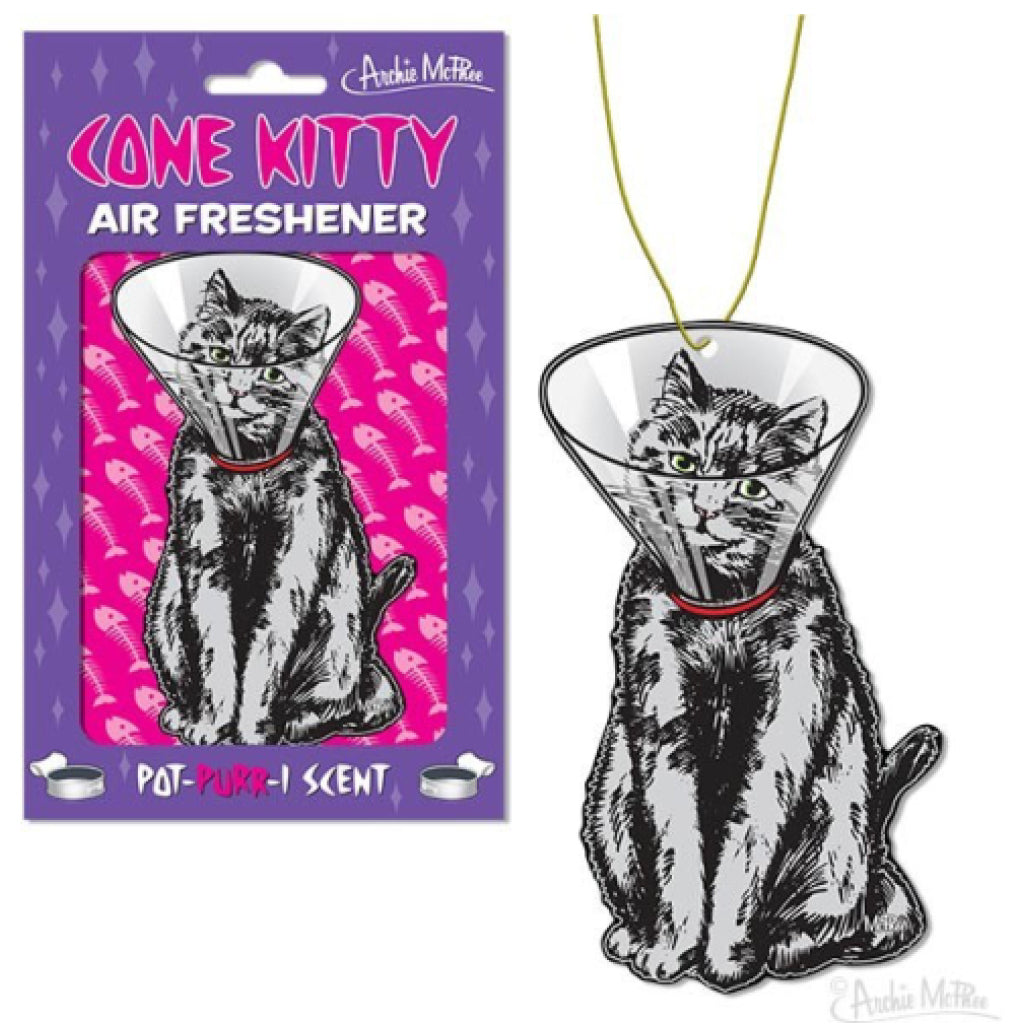 Cone Kitty Air Freshener