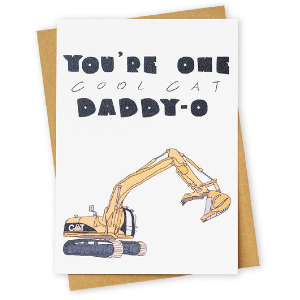 Cool Cat Daddy-O Card