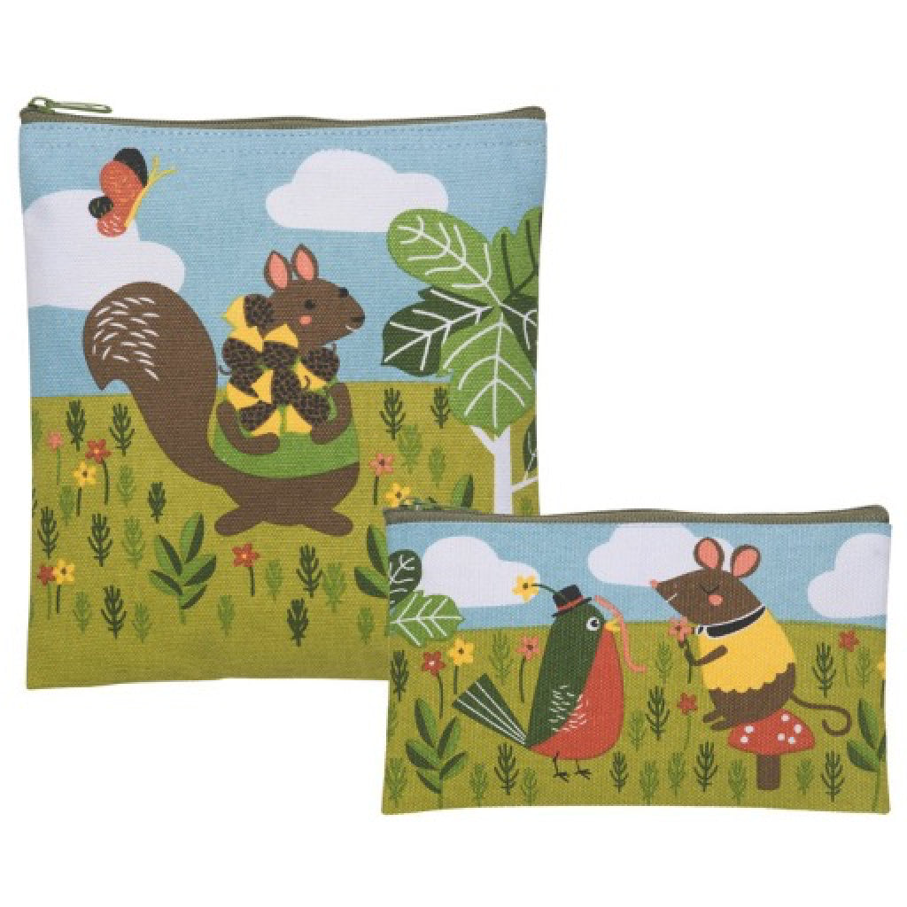 Critter Capers Snack Bags Set of 2