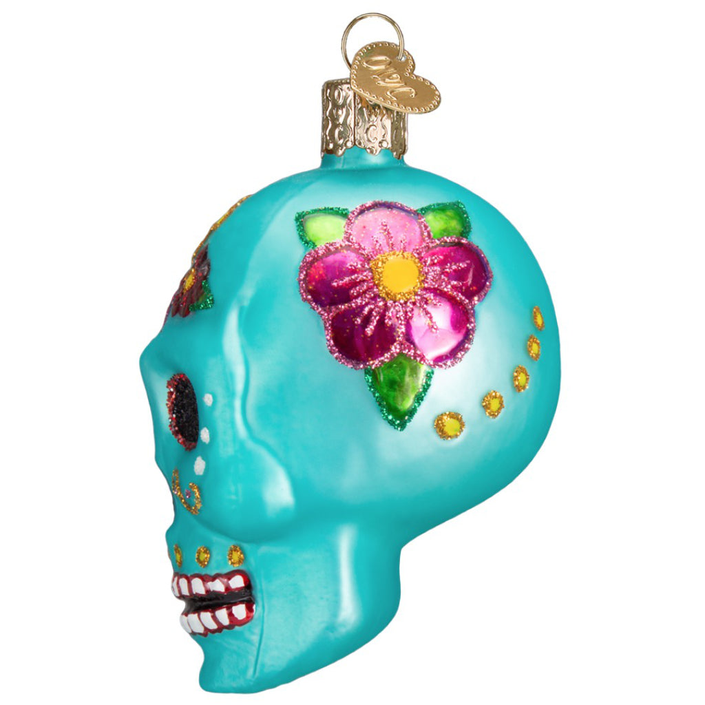 Day Of The Dead Ornament side