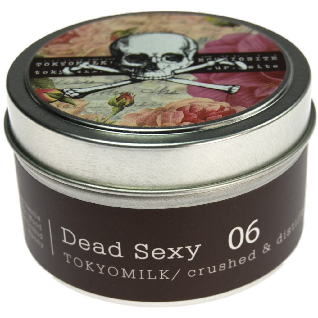 Dead Sexy Tin Candle No.6 package